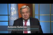 الأمين العام الجديد للأمم المتحدة: كلنا في مرمي تهديدات الإرهاب في العالم