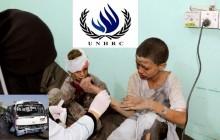 طالب مجلس حقوق الإنسان تحقيق فوري في هجمات التحالف بقيادة السعودي علي حافلة حاملة الأطفال في يمن