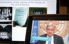 الأمم المتحدة تحتفل بالذكرى السنوية الخامسة والسبعين لميثاقها التأسيسي