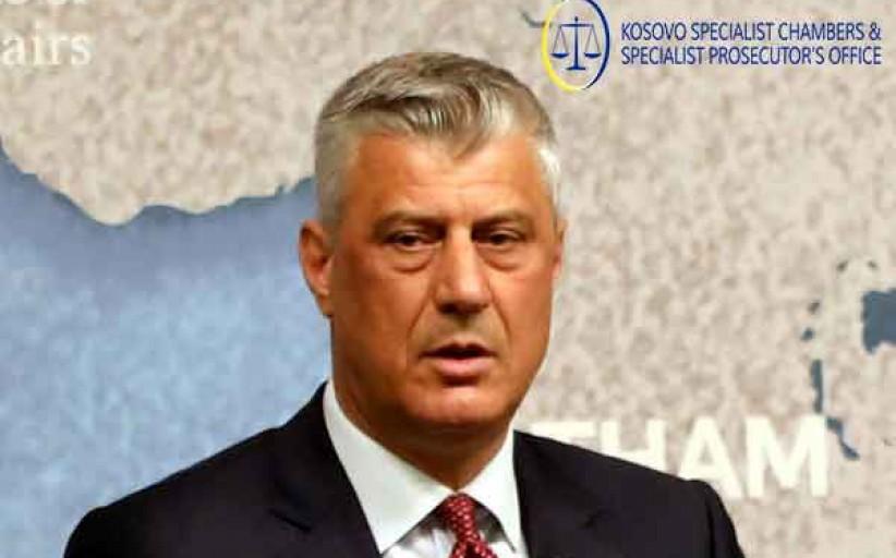 اتهمت المحكمة الخاصة لكوسوفو رئيس البلاد بارتكاب جرائم حرب وجرائم ضد الإنسانية