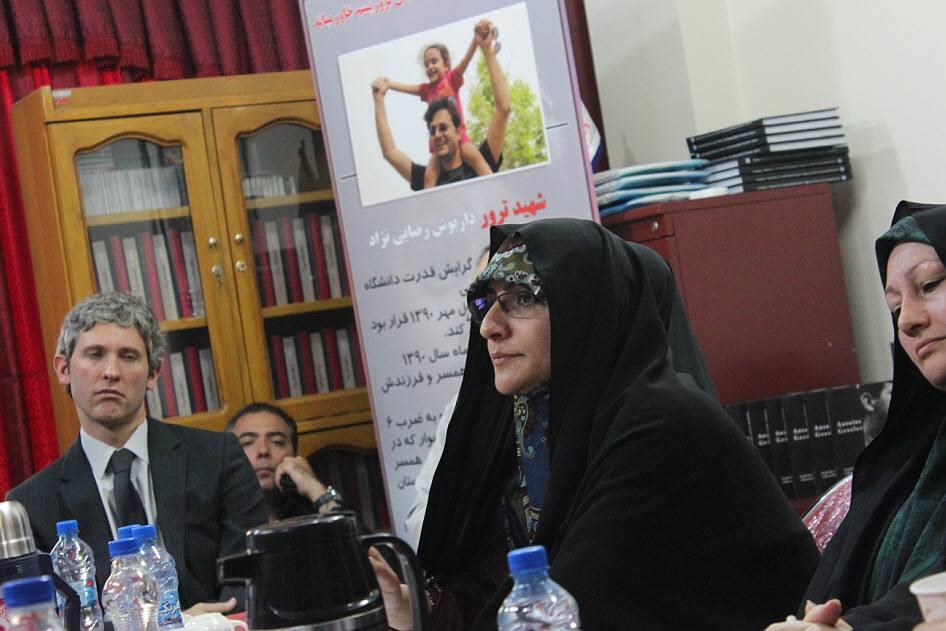 مقابلة مع زوجة الشهيد داريوش رضايي نجاد