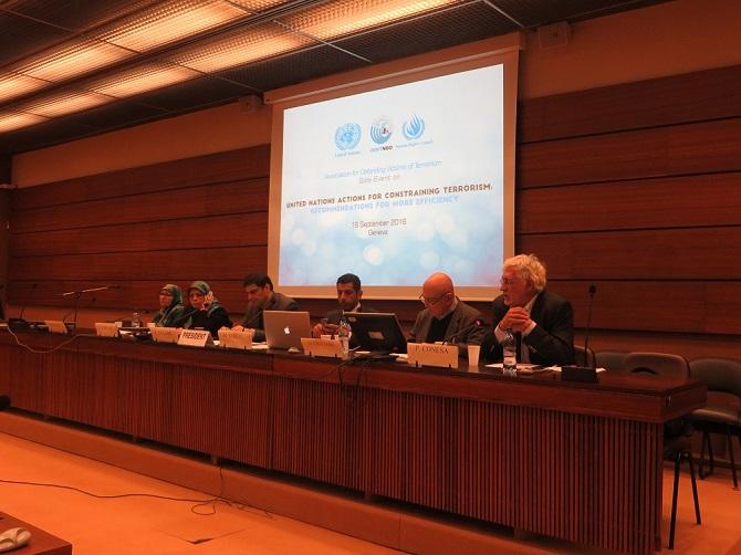 دیپلماسی قربانیان ترور ایران در سی وسومین نشست شورای حقوق بشر ملل متحد