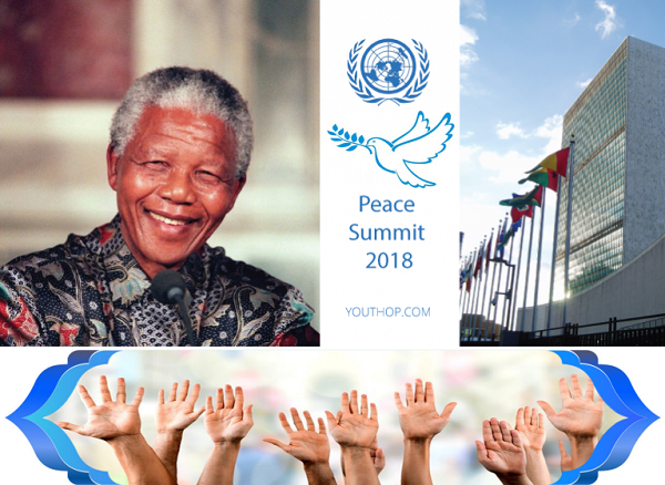 افتتحت دورة الثالثة و السبعين للجمعية العامة للأمم المتحدة بمؤتمر نيلسون مانديلا للسلام