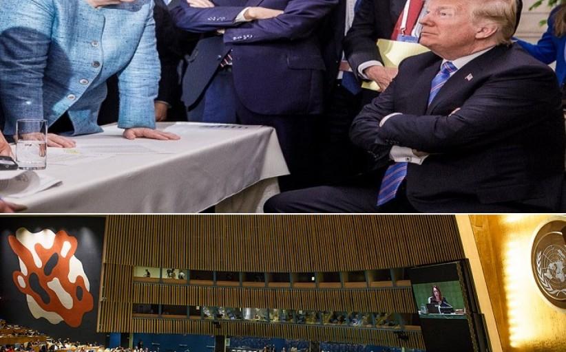 آنجيلا ميرکل: أعتقد بأن تدمير شيء (الأمم المتحدة) دون إنشاء بديلا له أمر خطير جدا