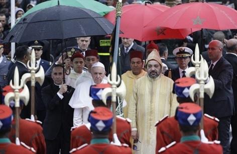البابا فرانسيس: إن الحوار الحقيقي بين الأديان هو طريق لمكافحة الإرهاب