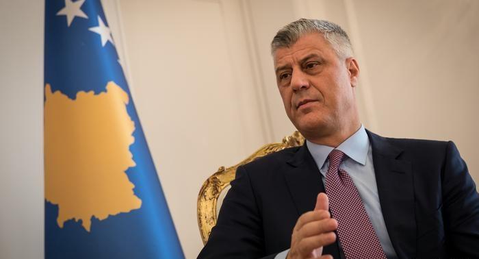 رئيس كوسوفو هاشم ثاتشي رهن الاحتجاز في لاهاي لمحاكمته بتهم ارتكاب جرائم حرب