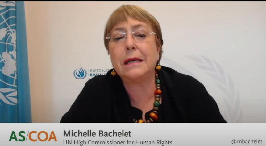 باشيليت: إننا نشجع العدالة التي تتمحور حول الضحية