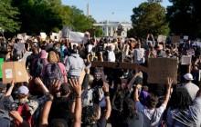 مظاهرة ضد العنصرية في أميركا 2020