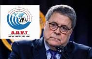 رسالة جمعية للدفاع عن ضحايا الإرهاب إلي ويليام بار، وزير العدل الأميركي