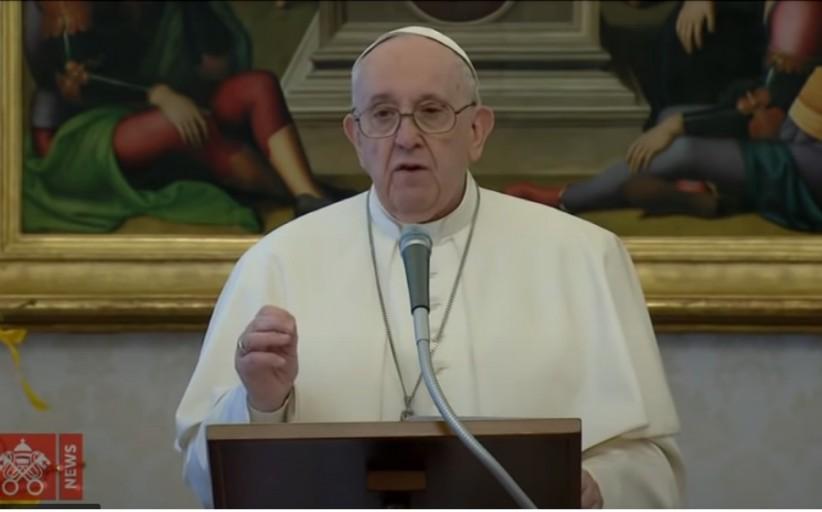 البابا فرنسيس : كل واحد منا ، رجالا ونساء في هذا الوقت، مدعو لتحقيق السلام
