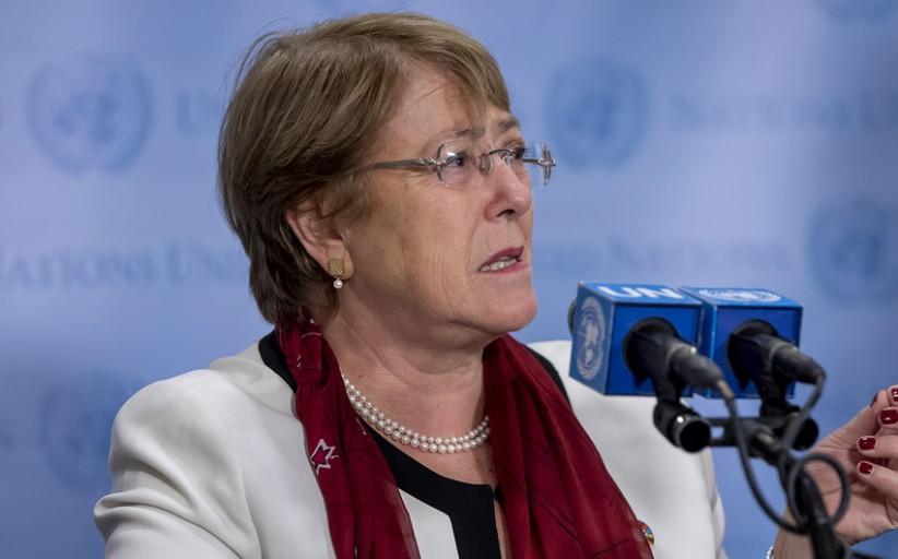 باشيليت: إسرائيل هي القوة القائمة بالاحتلال