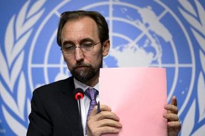 کمیسر عالی حقوق بشر سازمان ملل متحد خواستار یک رهبری مقتدر جهت برچیدن ریشه جنایتها در سراسر دنیا شدند